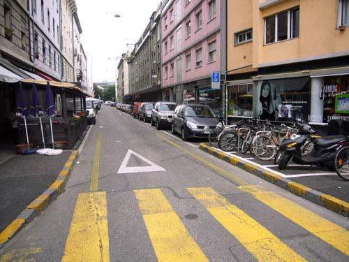 La rue des Savoises