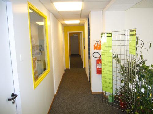 Couloir du 1er étage (Immeuble 11-17 Savoises)
