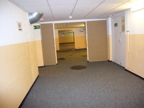 Couloir du 1er sous-sol (Immeuble 8bis Vieux Billard)
