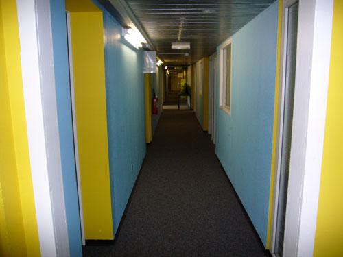 Couloir des bureaux Triplex (Immeuble 8bis Vieux Billard)