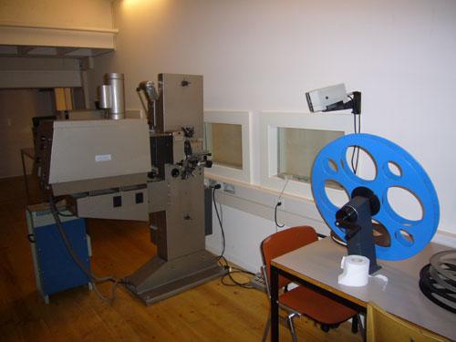 Salle Gangdi- Cabine de projection