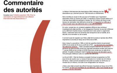 Le Conseil d'Etat fait de la désinformation dans la brochure de votation sur l'IN-158