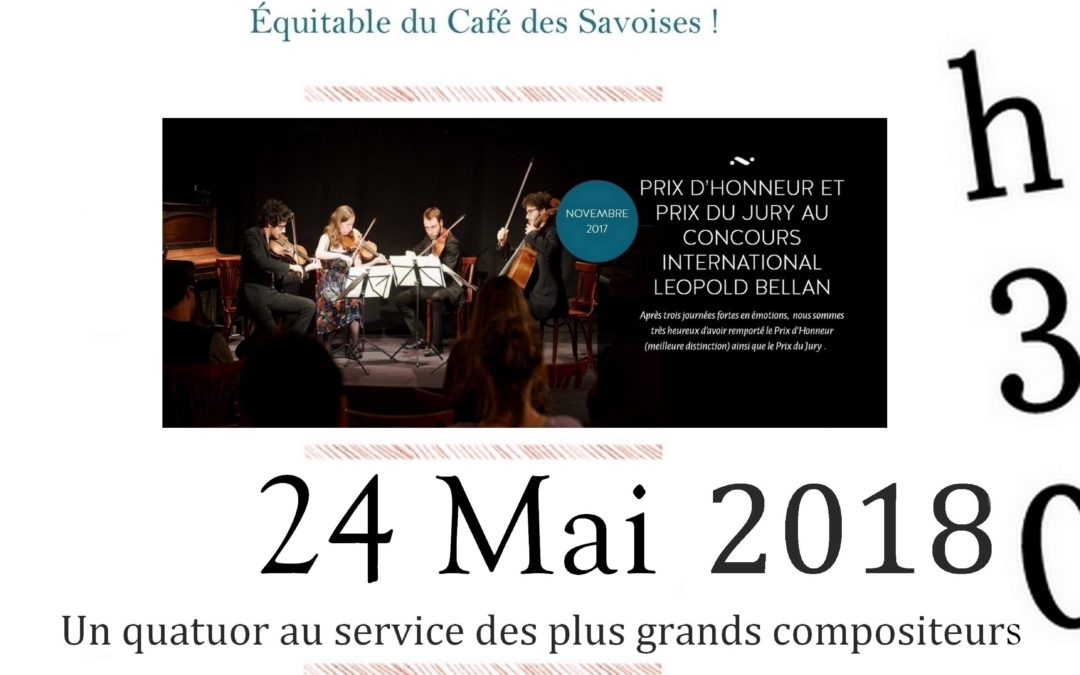 Café classique aux Savoises