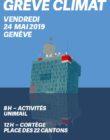 Grève pour le climat -Genève. Vendredi 24 mai