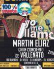 Concert hommage à Martin Eliaz de Vallenato. Samedi 20 juillet 21h -5h.