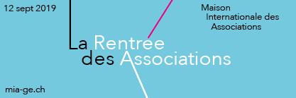 Privé: N'oubliez pas la Rentrée des Associations le 12 septembre à la MIA avec Mme Esther Alder et M. Thierry Apotheloz !