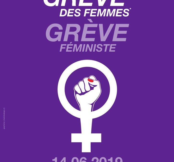 La FEA/MIA soutient la Grève des femmes*, grève féministe du 14 juin et invite les associations à y participer !