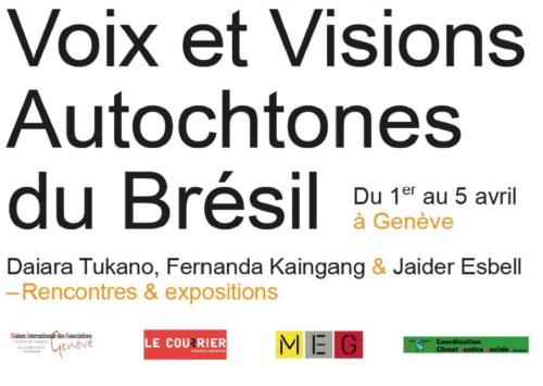 Privé: Exposition à la MIA: Voix et Visions Autochtones du Brésil