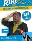 """One man show """"L'immigré intégré"""", organisé par l'association baobab d'Afrique dans le but de promouvoir la culture africaine. Samedi 25 à 19 heures."""