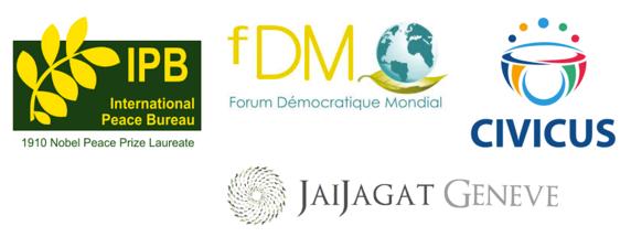 Les jeudis de la Paix et de la Justice globale. 11 avril